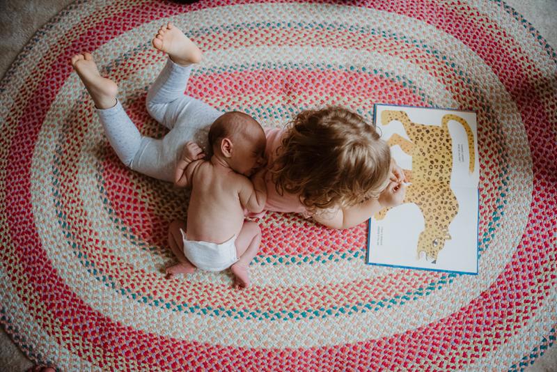 newborn session , round hill, va