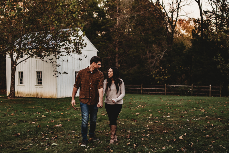 fall family couples photography session